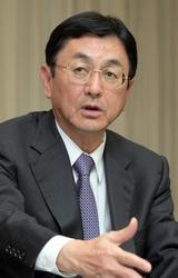 火力原子力発電技術協会会長・佐野敏弘氏(東京電力フュエル&パワー社長)