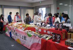 2日間で延べ400人ほどが訪れた「福島マルシェ」