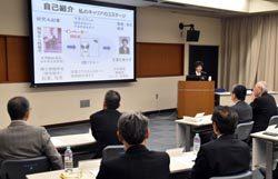 経営層ら出席者は会社の状況と照らし合わせながら國委氏の講演を聴いた