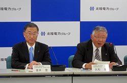 グループ各社のトップと各社の課題について意見交換した久和会長(右)と金井社長