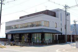 女川町の中心部に完成した新事務所