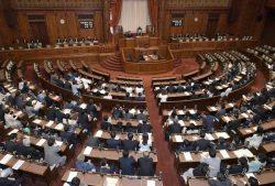 改正賠償廃炉機構法が成立した参院本会議