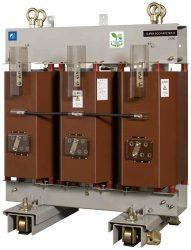 富士電機が開発したモールド変圧器の新製品