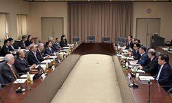 「新々総特」について議論した東電委員会の模様(12日、東京・霞が関)