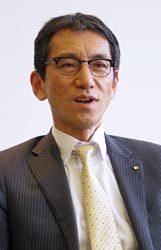 日本製鋼所社長・宮内直孝氏
