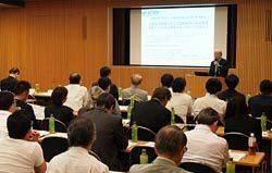 小型風力の動向や、導入、保守・運用まで幅広く取り上げた講演会