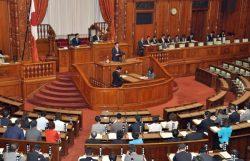 日印原子力協定が参院本会議で可決、承認された(7日、国会)