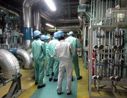 川内原子力発電所を訪れた伊方発電所の若手所員