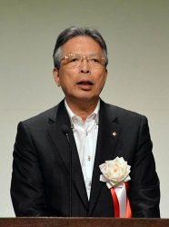 高速交通網整備の必要性を強調した海輪会長
