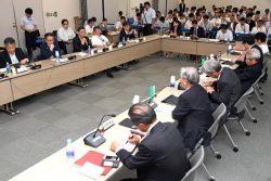 エネルギー情勢懇談会初会合の模様(30日、東京・霞が関)