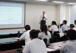 TC64における国際標準化の動向などについての講演が行われた