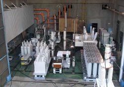 8万4000Vプロトタイプ遮断器