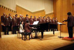 7年ぶりに再開された電力親善合唱大会(7月22日、東京都墨田区)
