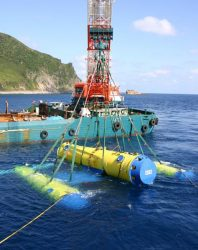 海流発電の実証試験で30kWの出力を得られた
