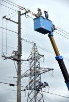 初めて行われた工務・配電部門合同の災害復旧訓練