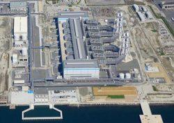 7-1号が営業運転を開始した西名古屋火力発電所