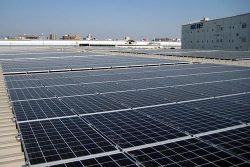 兵庫県尼崎市内に設置した太陽光設備
