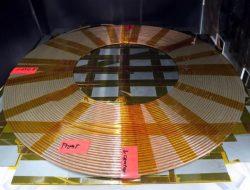 三菱電機が試作したワイヤレス給電システム用コイル