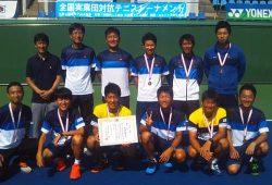 4位に入賞した九州電力男子チーム