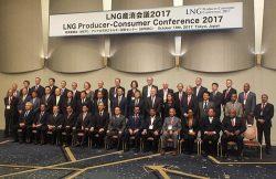 輸出国、輸入国の政府、企業が一堂に会したLNG参照会議
