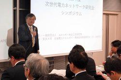 新たなアグリケーションビジネスに期待を示す横山教授
