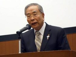 四国遍路保存・継承の必要性を訴える千葉会長