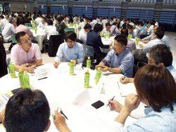 意見交換会では、人材確保など3テーマについて活発な議論が行われた