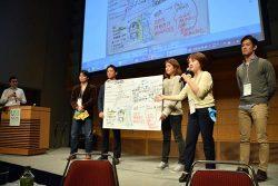 各チームが柔軟な発想とアイデアを披露した