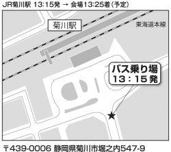 JR菊川駅