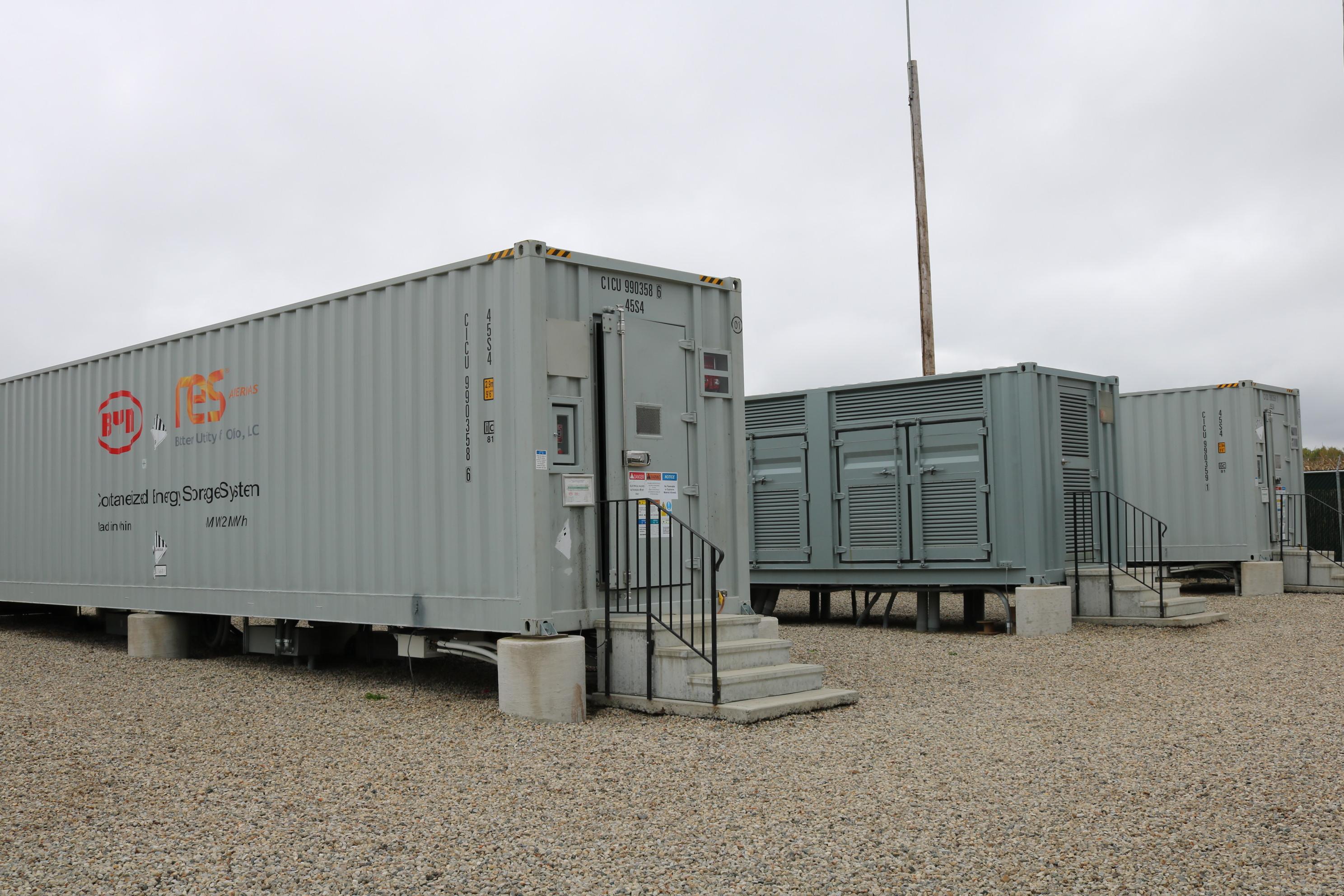RES Americas社の米国オハイオ州コロンバス・蓄電池システム