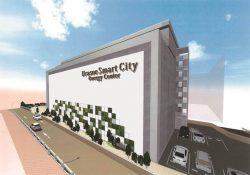 「浦添スマートシティエネルギーセンター(仮称)」の外観イメージ