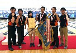 悲願の初優勝を果たした石川支店チーム