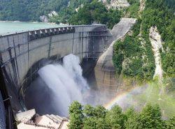 「黒部川水系の発電施設群」の一つとして日本の20世紀遺産に選定された黒部ダム