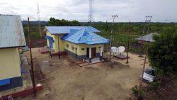 インドネシア・スンバ島で完成したEMS実証施設