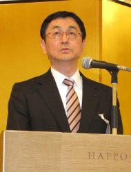 技術や保安レベルの維持・向上への決意を述べた佐野会長