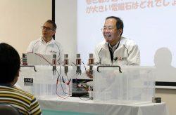 電磁石で学びながら遮断機のしくみを理解できる科学教室のプログラム