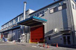 新設した第7工場棟。新たなめっき炉3ラインを備え耐食性の高い亜鉛めっきを生産できる