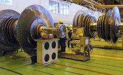 蒸気タービン工場が並ぶ京浜事業所のタービン工場