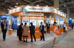 クラウドを利用したサービスを紹介するKS-SOLのブース