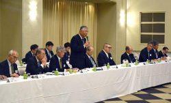 北陸新幹線の早期全線開業を強く求めた久和会長