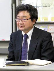 原子力比率の維持などを訴えた上坂会長