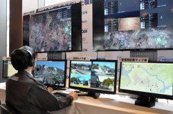 撮影した映像は運行管理システムで監視する