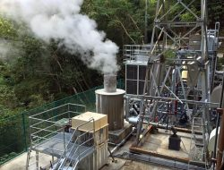 納入先の下田温泉バイナリー発電所