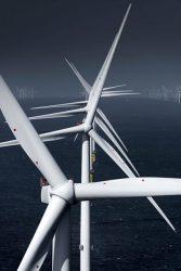 欧州では洋上風力が急拡大している(MHIベスタスが英バーボバンク拡張案件で納入した風車)