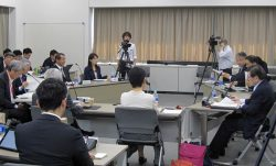 2050年の長期視点からエネルギー戦略に対する提言を行った(10日、東京・霞が関)