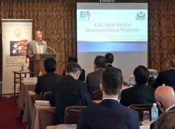 米企業が持つ豊富な経験を日本の廃止措置に適用する可能性を探った