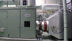 横浜事業所内のアンモニア混焼ガスタービン試験設備