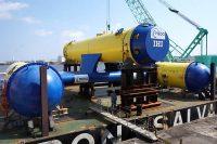 IHIが開発した100kW級海流発電実証機「かいりゅう」