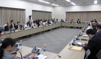 第5次エネルギー基本計画の素案について議論した基本政策部会(16日、東京・霞が関)