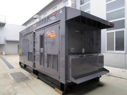実証で使用する水素混焼ディーゼル発電機
